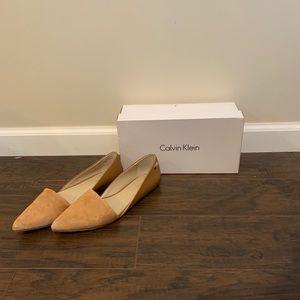 Calvin Klein flats